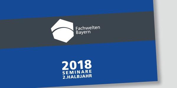 Das Programm der Fachwelten Bayern im 1. Halbjahr 2018
